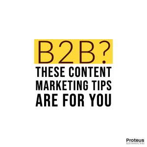 5 Content Marketing Tips for Your B2B Business